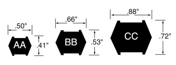 шестигранный ремень
