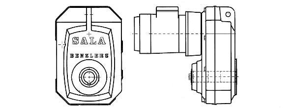 Benzlers цилиндрический редуктор с параллельными валами