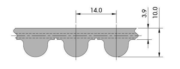 ремень HTD 14M