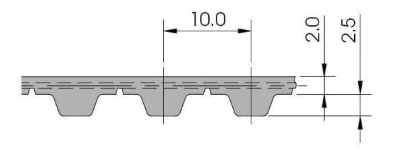 зубчатый ремень Brecoflex