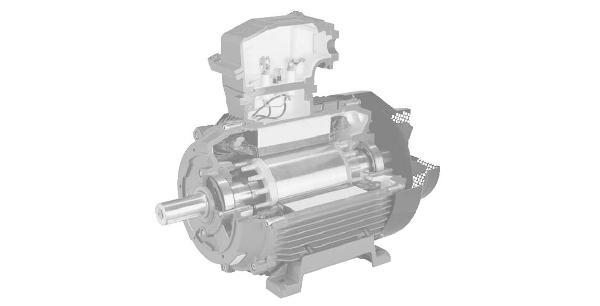 Взрывозащищённый трёхфазный электромотор