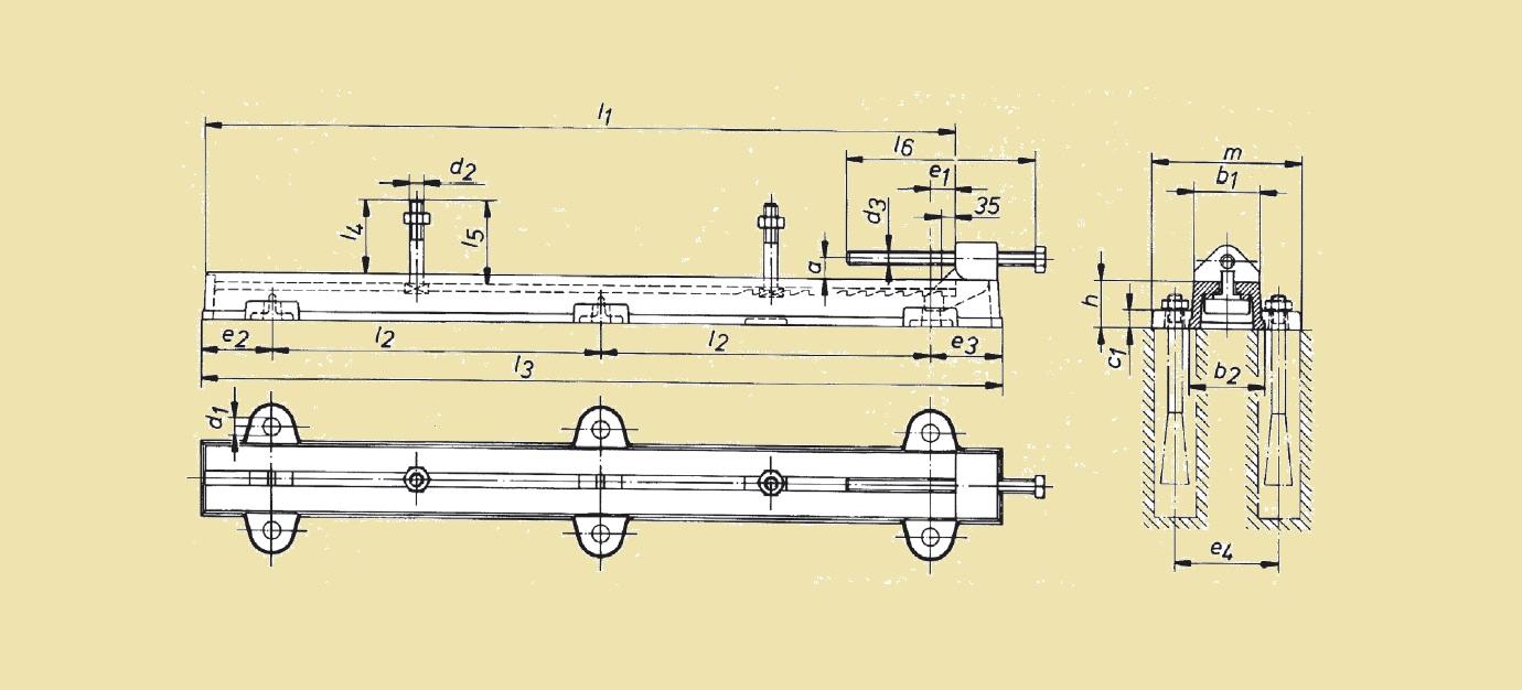 Чавунні салазки електромотора
