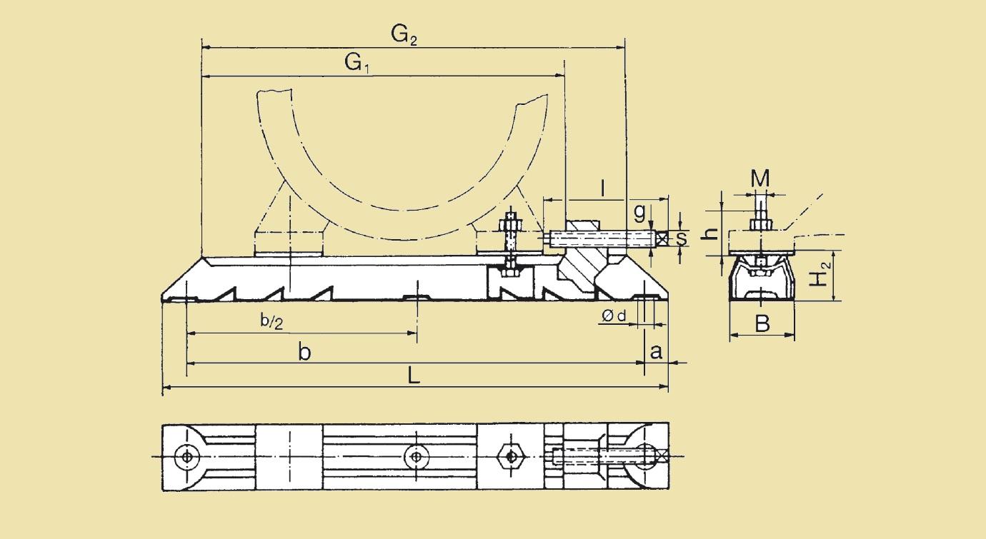 Салазки електромотора