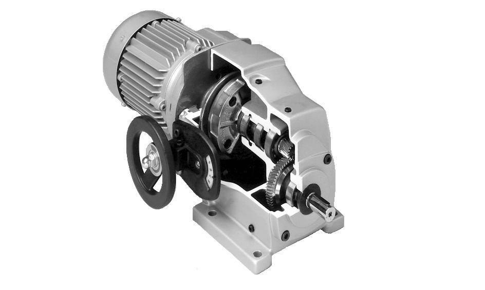 Мотор-варіатор Stober